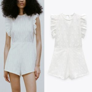 Combishort Blanc Chic | Soirée blanche