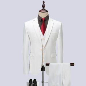 Costume Homme Blanc | Soirée Blanche
