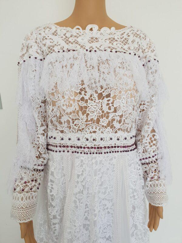 Robe De Mariée Princesse Bohème Blanche   Soirée Blanche